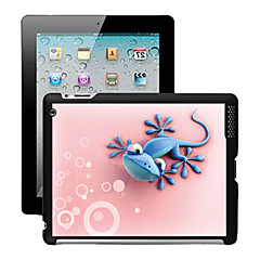 3D Effect Case  Back Cover for iPad 2/3/4