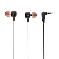 Q37M Super-Bass högkvalitativa in-ear hörlurar med fjärrkontroll och mikrofon för MP3, MP4, iPad, iPhone, mobiltelefon