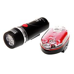 Cykellys / Forlygte til cykel / Baglygte til cykel LED Cykling Vanntett 14500 / AA 100 Lumens Batteri Cykling-Belysning