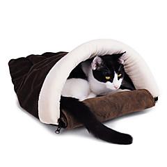 Estilo Arch gatito Saco de dormir caliente acogedor para Mascotas Gatos