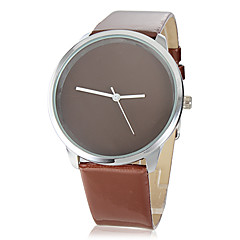 Women's Coffee Dial PU Band Quartz Wrist Watch Cool Watch Unique Watch Fashion Watch