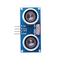 Ultrahangos érzékelő HC-SR04 Távolság mérő modul - kék + ezüst