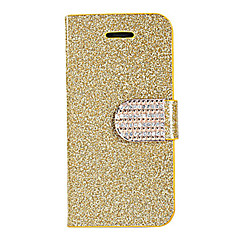 Joyland Loose Powder Diamond Button Back Case for iPhone 4/4S(Assorted Color)