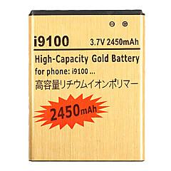 סוללה בטלפון נייד 2450mAh עבור Samsung Galaxy S2 GT-I9100 GT-I9003 SII