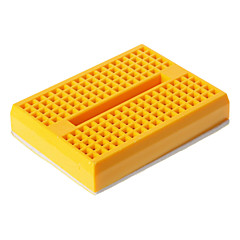 Mini Breadboard - Gul (46 x 35 x 8,5 mm)