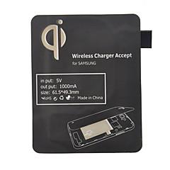 Negru Qi standard de încărcare wireless receptor frana pentru i9300 Samsung Galaxy S3