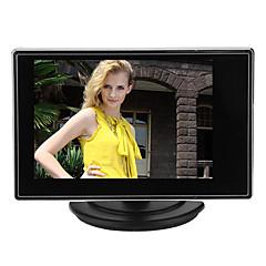 AVCCA video ses girişi ile CCTV kamera için 3.5 inç tft lcd ayarlanabilir monitör