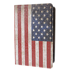 estilo retro américa caso modelo de la bandera para el mini ipad 3, Mini iPad 2, iPad mini