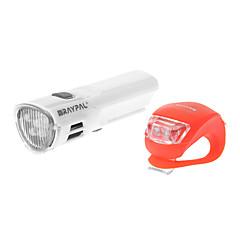 Raypal 4-Mode 5 LED Geavanceerde Asymmetrische Optic fiets licht / koplamp Set (4xAAA, Wit)