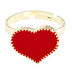 Heart Adjustable Ring