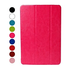 Solid Color Ice Skin Leather Case w/ Stand for iPad mini 3, iPad mini 2, iPad mini