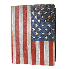 Retro Style America Flag Pattern Full Body Case with Stand for iPad 2/3/4