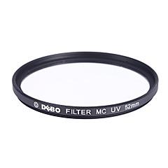 DEBO S-MC Filtre UV pour Appareil Photo (52mm)
