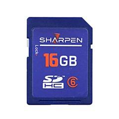 16 GB SD-kártya Memóriakártya Class6