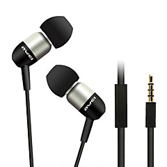 ESQ8i-Awei Super Bass In-Ear øretelefon med mikrofon og fjernbetjening til Mobilephone/PC/MP3