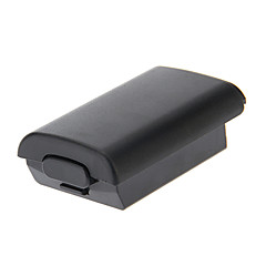AA Battery Pack Back Door Cover Case Shell Box Replacement for Xbox 360 (Black)