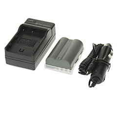 NIKON D700의 D90의 D80의 D200의 D300 FNP-150 ismartdigi 1650mAh 카메라 배터리 + 차량용 충전기
