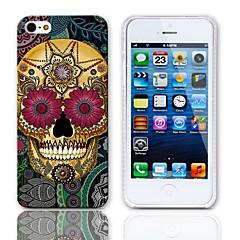 Cas Pétale conception de crâne dur avec protecteurs d'écran 3-Pack pour iPhone 5/5S