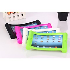 Solid Color Silicone Case med stativ for iPad2/3/4