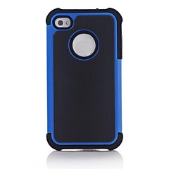 Hybrid Rugged Matte Kumi Hard Cover Case Full Body iPhone 4/4S