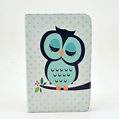 Sleeping Owl Pattern Full Body Case with Stand for Samsung Galaxy Tab 2 7.0 P3100