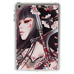 vacker flicka och fjäril fodral för ipad mini 3, iPad Mini 2, iPad Mini
