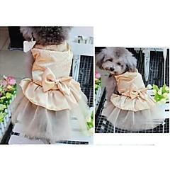 perforación y de la boda vestidos muy calientes elegantes para mascotas perros