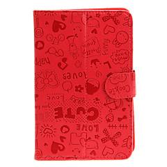 7inch Universal PU Læder taske Taske med stativ til Tablet PC