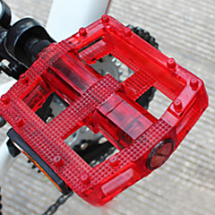 CoolChange PC Material Ultralight Anti-Slip Red Ball Bearing Pedal