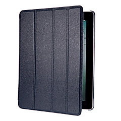 Auto Sleep and Wake up Designed Silk Print PU Leather Full Body Case with Stand for iPad 2/3/4 (Assorted Colors)