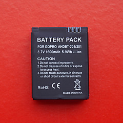 1600mAh batteri for GoPro Hero 3 ahdbt-201/301