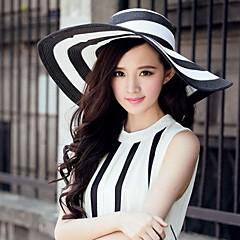 Γυναικείο Τεχνουργήματα καλαθοποιίας Headpiece-Καθημερινά Υπαίθριο Καπέλα