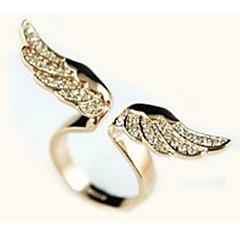 Shixin® Women's Wing-Shaped Rhinestone Ring