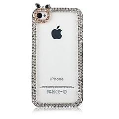 Zircon Inlay Créez arrière pour l'iPhone 5/5S