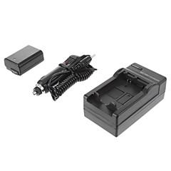 ismartdigi-Sony NP-FW50 (2pcs) 1080mah,7.2V Camera Battery+Car Charger for SONY NEX-5T 5R 3N F3 C3 A7 7 A55 A35 A7R