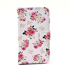 Für Samsung Galaxy Hülle Geldbeutel / Kreditkartenfächer / mit Halterung / Flipbare Hülle / Muster Hülle Handyhülle für das ganze Handy