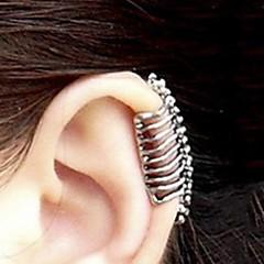 Ear Cuffs Stop Skull shape Silver Biżuteria Na Impreza Halloween Codzienny Casual