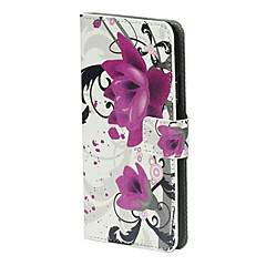 Graceful Rose Flower Flip Magnet Stand Læder Carry Case Cover Fit For Samsung Galaxy S5 I9600