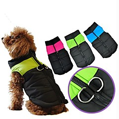 Nylon Winter Waterproof Stylish Dog Harness Jacket for Pets Dogs(Assorted Size,Assorted Color)