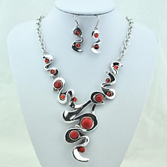 Jewelry-Necklaces / Earrings(Alloy)Party / Daily Wedding Gifts