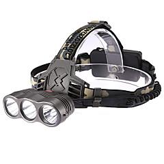 Linternas de Cabeza LED 3 Modo 190 Lumens Cree XR-E Q5 18650.0 Múltiples Funciones - Otros Plástico / ABS