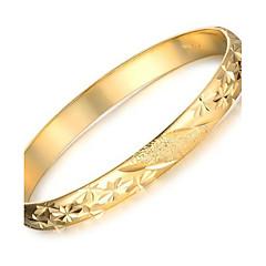 Damskie Bransoletki cuff Pozłacane Porcelanka 18K złoty Unikalny Modny Biżuteria Gold Biżuteria 1szt