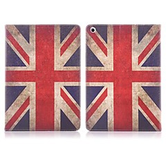 ENKAY Auto Sleep and Wake Up Designed the Union Flag Pattern Protective Case with Stand and Cart Slots for iPad Air
