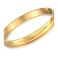 Beautiful Bride Wedding Gift deserve To Act The Role Of 18 K Gold Bracelet Is Concise And Smooth