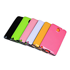 For Samsung Galaxy Note Other Etui Bagcover Etui Helfarve TPU Samsung Note 3