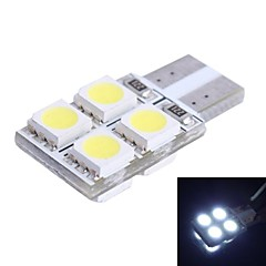 T10 1.2W 110LM 8x5050 SMD Yellow LED for Car Steering Light (DC12V, 1Pcs)