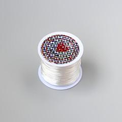 Elastisk tråd smykker og tilbehør DIY (assorterte farger)