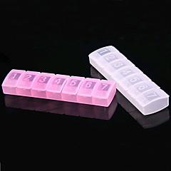 11 * 3 * 3 cm Plastic Portable Medicine Box