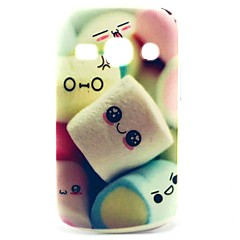 Towel Cake Pattern Hard Case for Samsung Galaxy Fame S6810/S6818