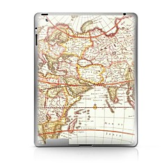 Map  Pattern Protective Sticker for iPad 1/2/3/4